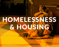 Causes that care for the condition of people who lack a stable home or dwelling because they cannot afford, or are otherwise unable to maintain consistent, safe, and adequate housing.